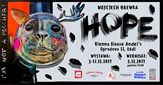 Wernisaż wystawy #HOPE
