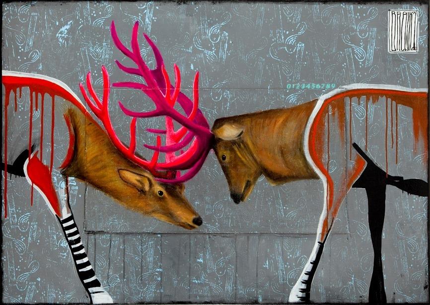 konflikt-pokolen-brewka-obrazy-portrety-zwierzat-cykl