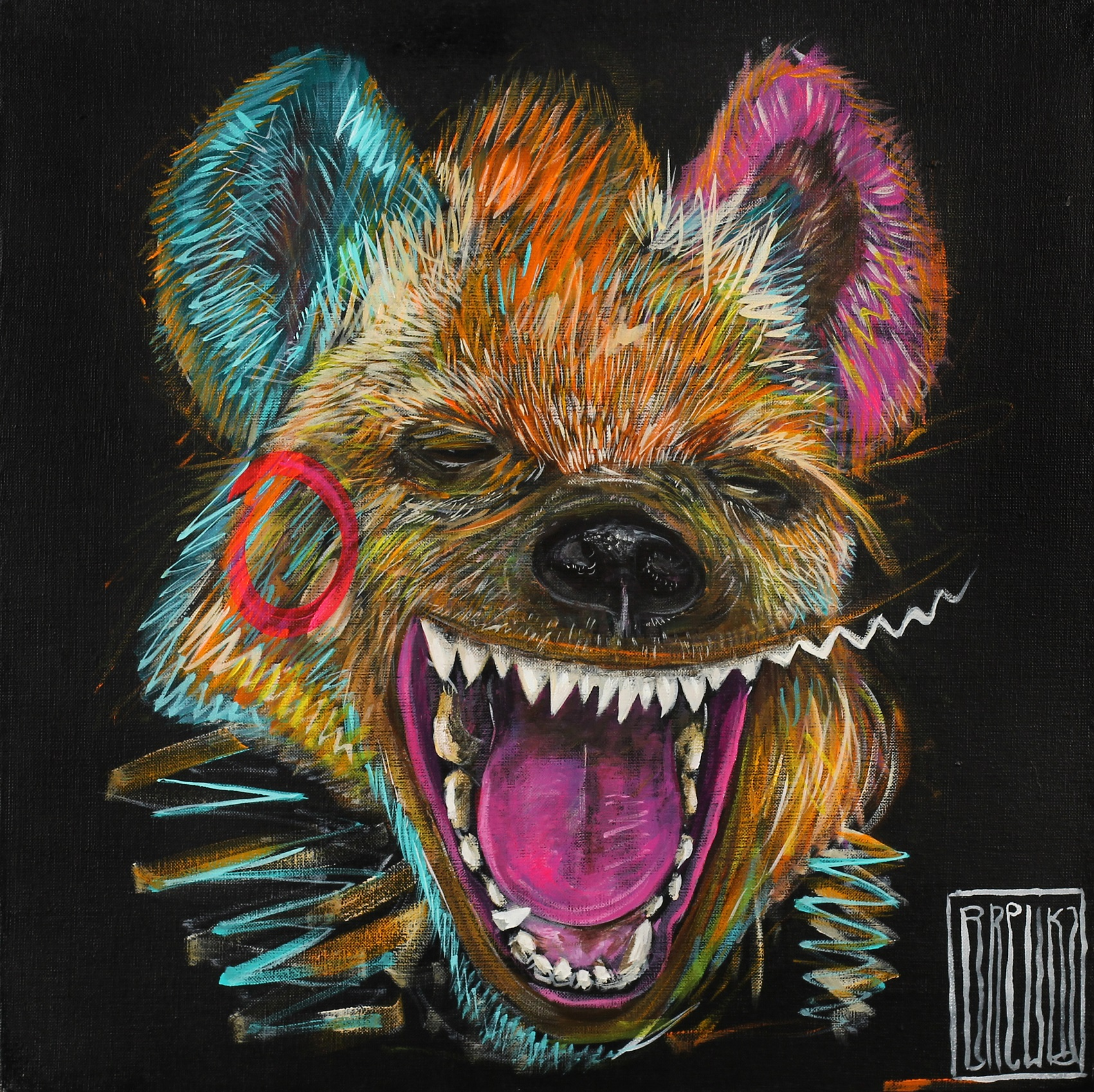 smile-brewka-obrazy-portrety-zwierzat-cykl