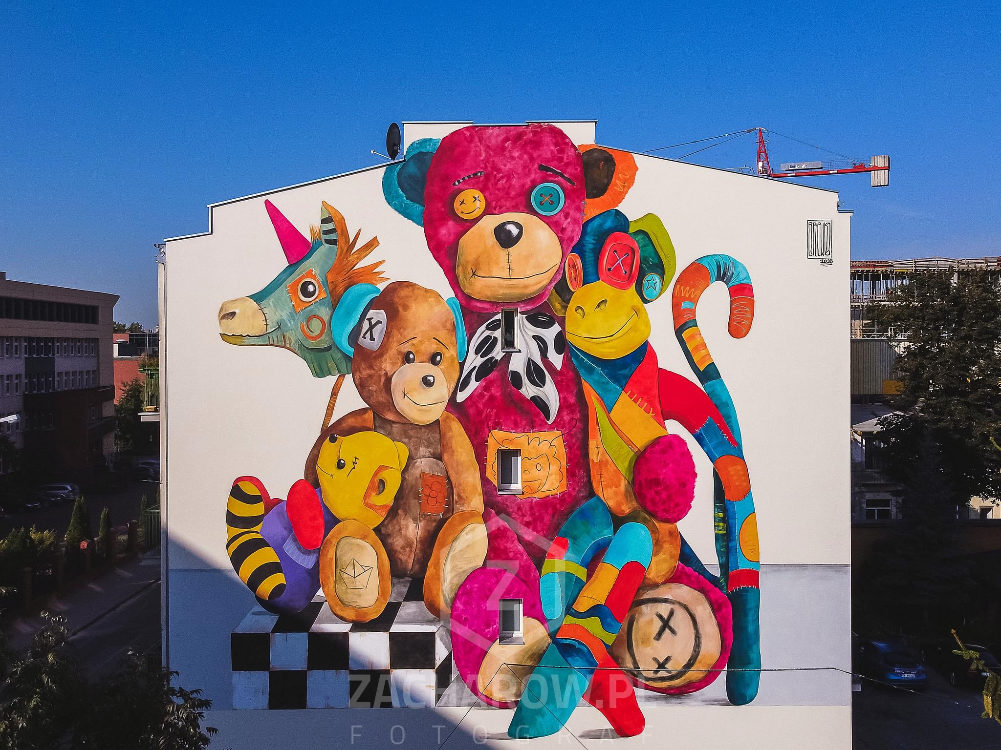 Otwarcie muralu dla Mai