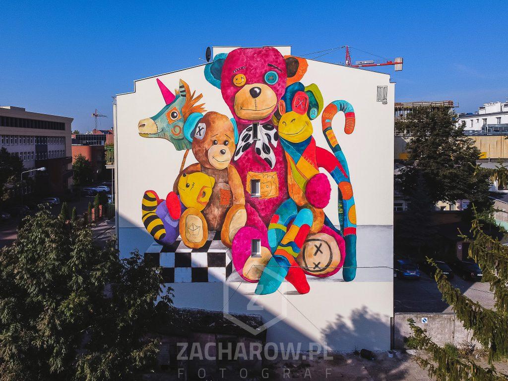 brewka-mural-zdjęcie-łódź-maural-dla-mai