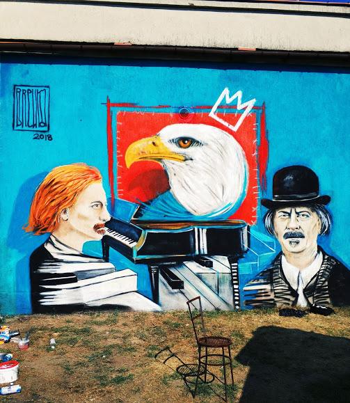 Mural w Miliczu
