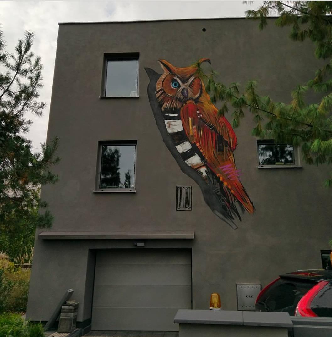 Mural w Kaliszu