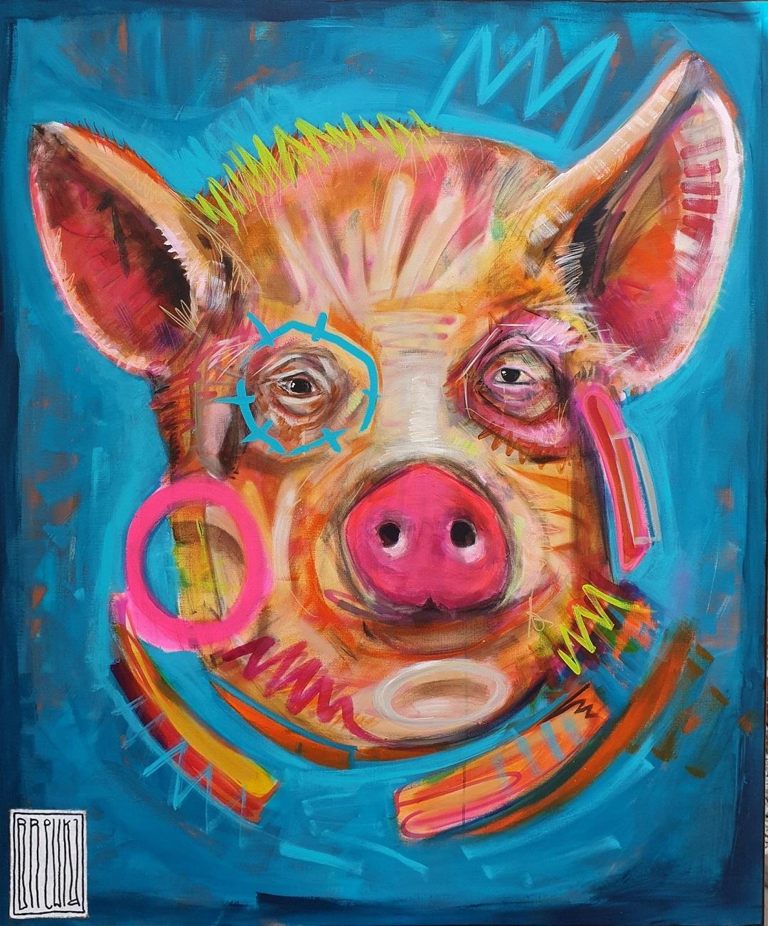 brewka-obrazy-beneficjent-120x100-portrety-zwierzat-2019