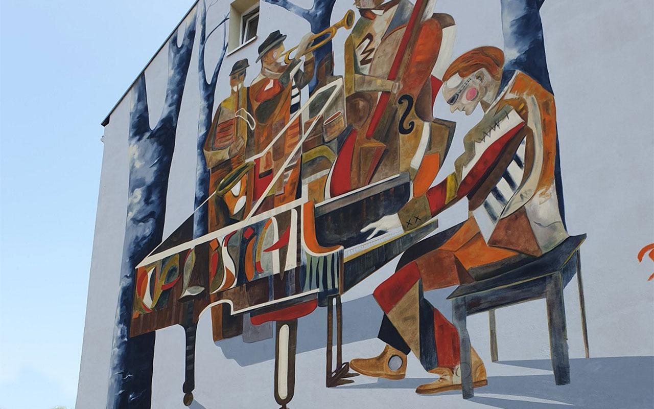 Otwarcie muralu wKaliszu